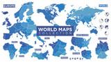 Mapa świata z krajami