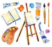 Artist Materials - Easel, Pale...