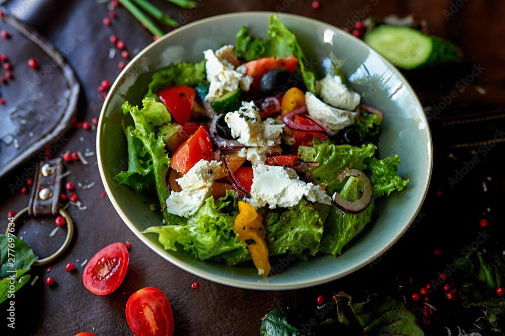 Fototapety, obrazy: vegetable salad