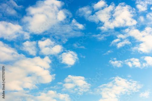 Canvas Prints Heaven 青空と空の背景素材 暑中見舞い テンプレート
