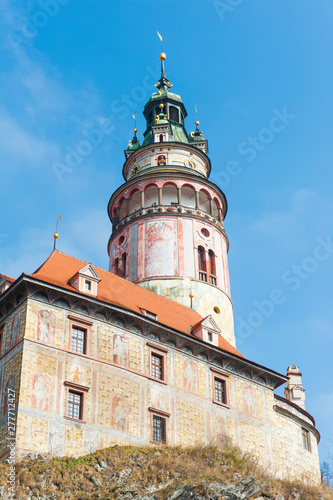 Cesky Krumlov Tower