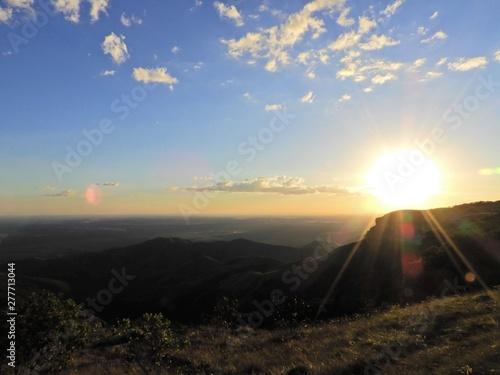 Fotografija  Sunset view of Chapada dos Guimarães, Mato Grosso, Brazil