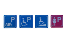 Signs For Motorbike Parking, D...