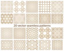 Oriental Seamless Vector Patte...