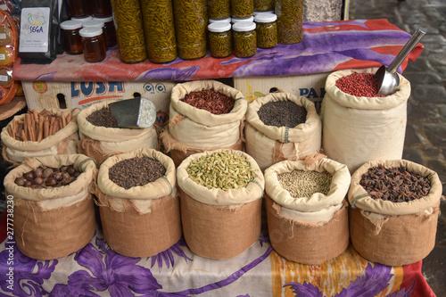 Photo Les épices du marché à l'île Maurice