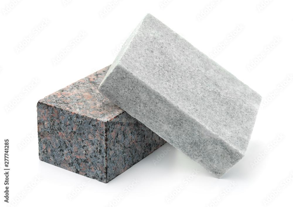 Fototapety, obrazy: Unpolished granite and marble stone blocks