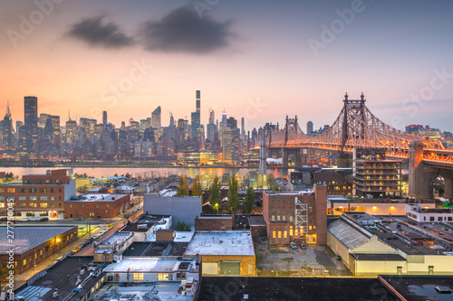 Photo New York City with Queensboro Bridge