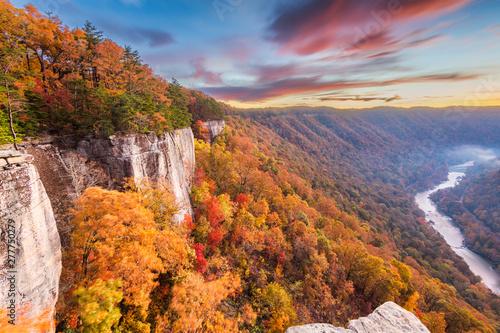 Fotografie, Obraz  New River Gorge, West Virgnia, USA