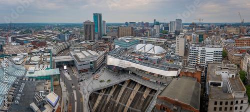 Birmingham view across the city Canvas Print