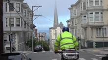 Biking Down The Hills Of San F...
