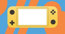 Yellow Portable Video Game Con...