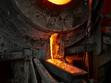 Industry, Furnace During Melti...