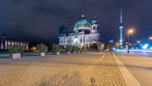 Germany, Berlin, View To Light...