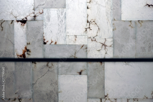 alabaster traslucent wall texture Canvas Print