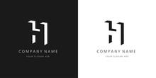 H Logo, Modern Design Letter C...