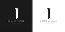 I Logo, Modern Design Letter Character