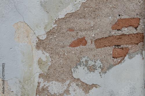 Foto auf AluDibond Alte schmutzig texturierte wand Background of old brick wall