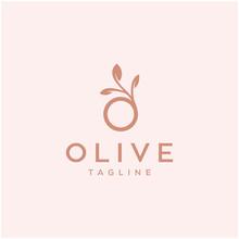 Olive Vector Icon Logo Design ...