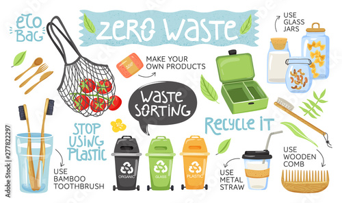 Fototapeta  Zero waste concept
