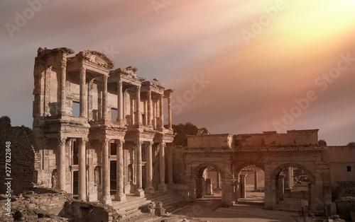 Fotografija Celsus Library in Ephesus, Turkey