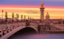 Alexandre III Bridge, Paris Fr...