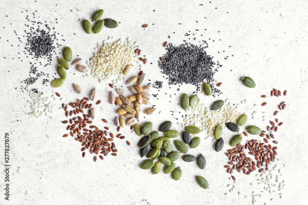 Fototapety, obrazy: Seeds Assortment