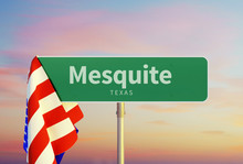 Mesquite – Texas. Road Or To...