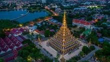 Aerial View Phra Mahathat Kaen...