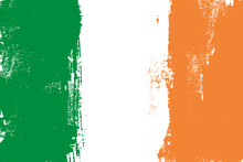 Ireland Colorful Brush Strokes...