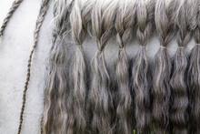 Close Up Of The Braided Mane O...
