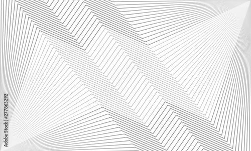 Photo  Vector illustration of the pattern of the gray lines abstract background
