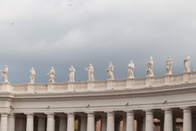 Group Of Statues Of Peter's Sq...