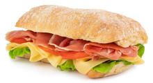 Ciabatta Sandwich With Lettuce...