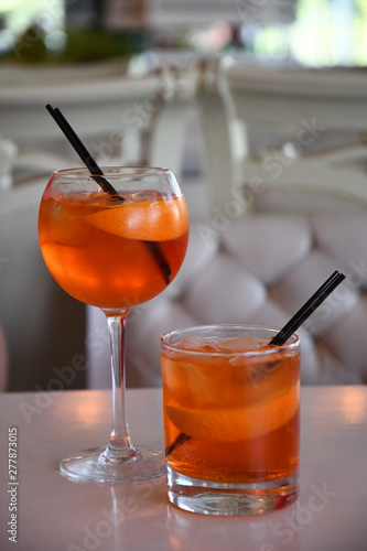 Glass of orange juice Fototapet