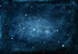 Watercolor night sky background with stars. cosmic texture with glowing stars.