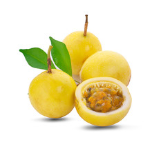 Passion Fruit An Isolated On W...