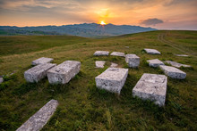 Stećak Tombstones At Morine Highlands