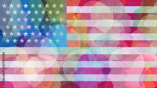 Fényképezés United States Diversity