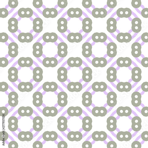 Photo sur Aluminium Art abstrait Seamless geometric ornamental vector pattern. Abstract background