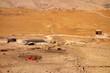 Obóz pasterzy kóz w Jordanii