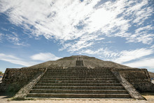 Stairs Leading To Pyramid Of T...