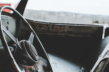 Vintage Classic Car Hudson ...