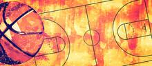 Basketball Banner Background. ...