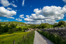 A Path To Malham Cove Yorkshir...