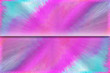 canvas print picture - Abstract, colorful 3d background in pink and blue