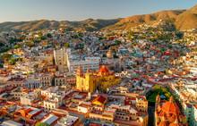 Guanajuato City View Of The Su...