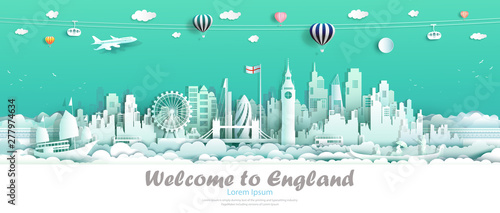 Foto auf AluDibond Reef grun Travel london england famous landmarks Europe downtown country of island.