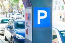Parking Meter On The Street Of...