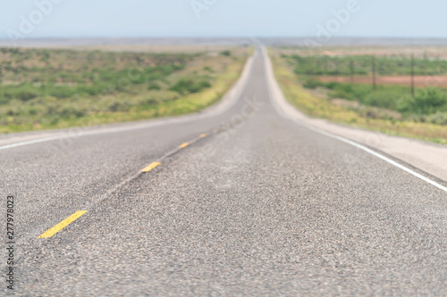 Tela  Roswell New Mexico countryside rural empty road view from 380 highway with deser