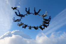 Formation Skydiving. A Group O...